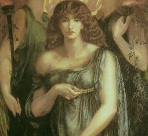 Astarte Syriaca, D.G. Rossetti  manchester
