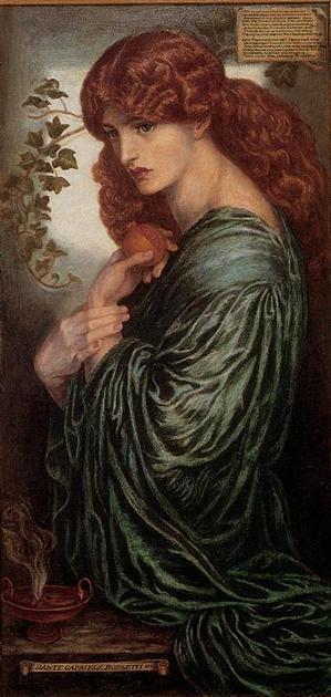 Proserpina(1881-82) Tate Gallery Dante Gabriel Rossetti
