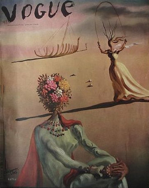 Salvador Dali. Vogue June 1939
