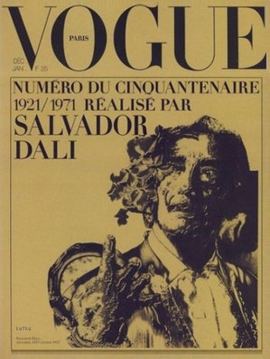 Salvador Dali, Vogue 1971