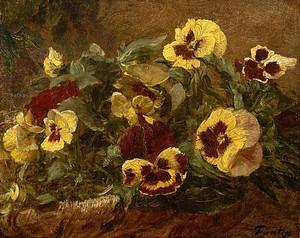 Pansies 1903 Henri Fantin-Latour  Metropolitan Museum