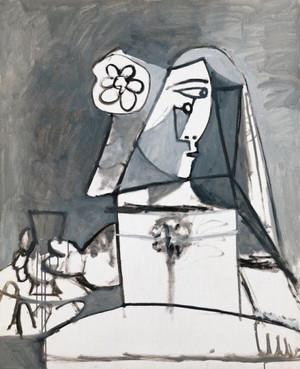 Pablo Picasso - After Las Meninas Variação da Infanta Margarida