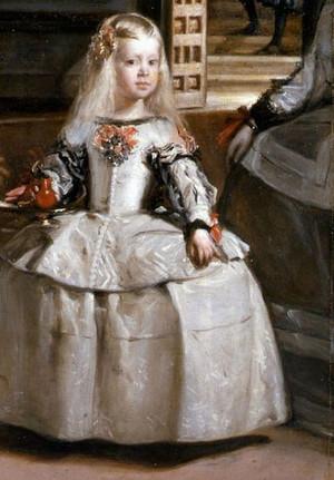 Diego Velázquez - Las Meninas (1656) Infanta Margarida