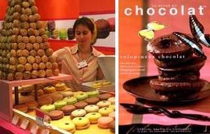 Salon du chocolat Paris サロン・デュ・ショコラ 2005
