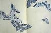 こちらは、1903年の神坂雪佳「蝶千種」の一枚です。