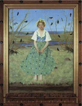 Harald Slott-Møller: Foråret. 1896 Hirschsprungske